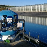 Water filtration system for major tomato growing operation