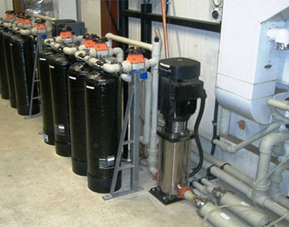 Pure water system supply and installation (Electronics industry)